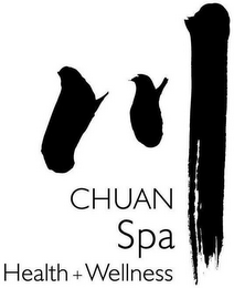 mark for CHUAN SPA HEALTH WELLNESS, trademark #87816160