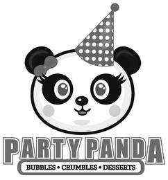 mark for PARTY PANDA BUBBLES CRUMBLES DESSERTS, trademark #87816809