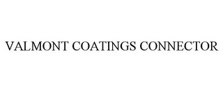 mark for VALMONT COATINGS CONNECTOR, trademark #87818507