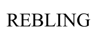 mark for REBLING, trademark #87820521