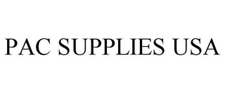 mark for PAC SUPPLIES USA, trademark #87823194