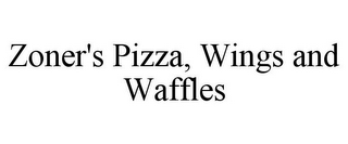 mark for ZONER'S PIZZA, WINGS AND WAFFLES, trademark #87824590