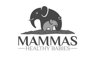 mark for MAMMAS HEALTHY BABIES, trademark #87824742
