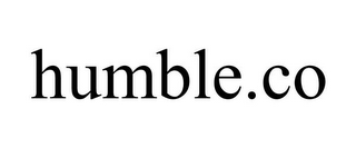 mark for HUMBLE.CO, trademark #87825000