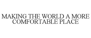 mark for MAKING THE WORLD A MORE COMFORTABLE PLACE, trademark #87825136