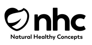 mark for NHC NATURAL HEALTHY CONCEPTS, trademark #87826788