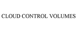 mark for CLOUD CONTROL VOLUMES, trademark #87828168