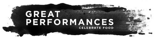 mark for GREAT PERFORMANCES CELEBRATE FOOD, trademark #87829969