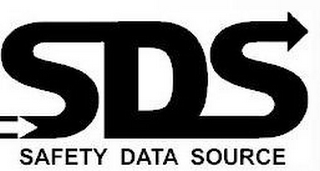 mark for SDS SAFETY DATA SOURCE, trademark #87830679