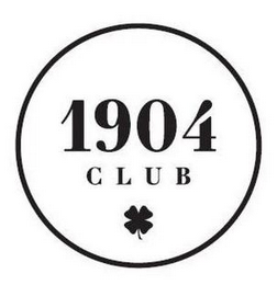 mark for 1904 CLUB, trademark #87830838