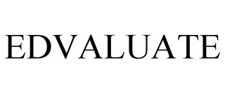 mark for EDVALUATE, trademark #87833189