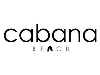 mark for CABANA BEACH, trademark #87833797