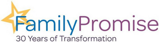 mark for FAMILY PROMISE 30 YEARS OF TRANSFORMATION, trademark #87835017