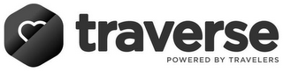 mark for TRAVERSE POWERED BY TRAVELERS, trademark #87835060