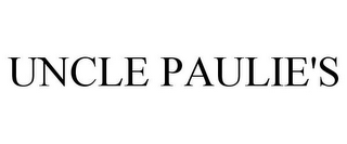 mark for UNCLE PAULIE'S, trademark #87836018