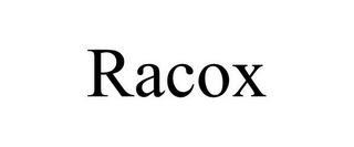 mark for RACOX, trademark #87836627