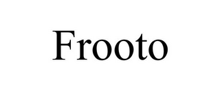 mark for FROOTO, trademark #87838993