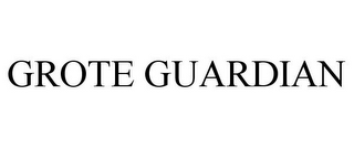 mark for GROTE GUARDIAN, trademark #87840057