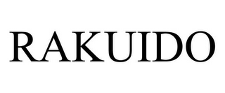 mark for RAKUIDO, trademark #87840065