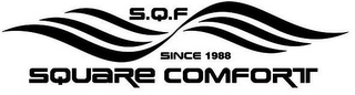mark for SQF SQUARE COMFORT, trademark #87840877