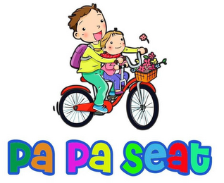 mark for PA PA SEAT, trademark #87840968