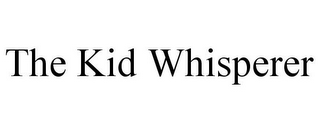mark for THE KID WHISPERER, trademark #87841426