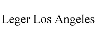 mark for LEGER LOS ANGELES, trademark #87841765