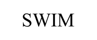 mark for SWIM, trademark #87842132
