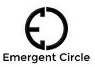 mark for EC EMERGENT CIRCLE, trademark #87842363
