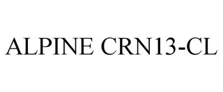 mark for ALPINE CRN13-CL, trademark #87846874