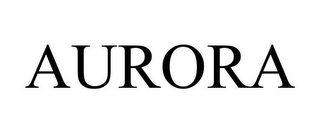 mark for AURORA, trademark #87847418
