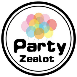 mark for PARTY ZEALOT, trademark #87848569