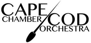 mark for CAPE COD CHAMBER ORCHESTRA, trademark #87848578