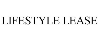 mark for LIFESTYLE LEASE, trademark #87849831