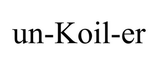mark for UN-KOIL-ER, trademark #87849860
