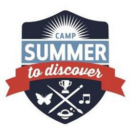 mark for CAMP SUMMER TO DISCOVER, trademark #87850284