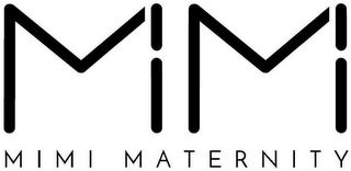 mark for M M MIMI MATERNITY, trademark #87870192