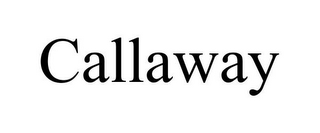 mark for CALLAWAY, trademark #87870332