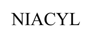 mark for NIACYL, trademark #87874661