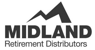 mark for M MIDLAND RETIREMENT DISTRIBUTORS, trademark #87880539