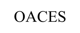 mark for OACES, trademark #87882190