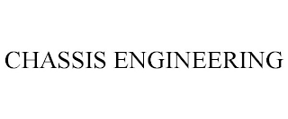 mark for CHASSIS ENGINEERING, trademark #87897825