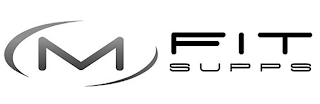 mark for M FIT SUPPS, trademark #87902941