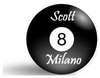 mark for 8 SCOTT MILANO, trademark #87921199