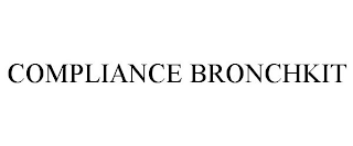 mark for COMPLIANCE BRONCHKIT, trademark #87922338