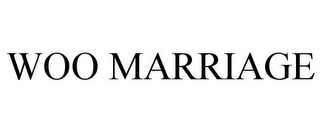 mark for WOO MARRIAGE, trademark #87925481