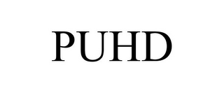 mark for PUHD, trademark #87930390