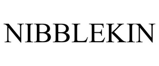mark for NIBBLEKIN, trademark #87931850