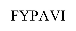 mark for FYPAVI, trademark #87931859