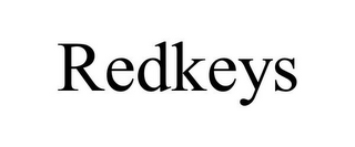 mark for REDKEYS, trademark #87931873